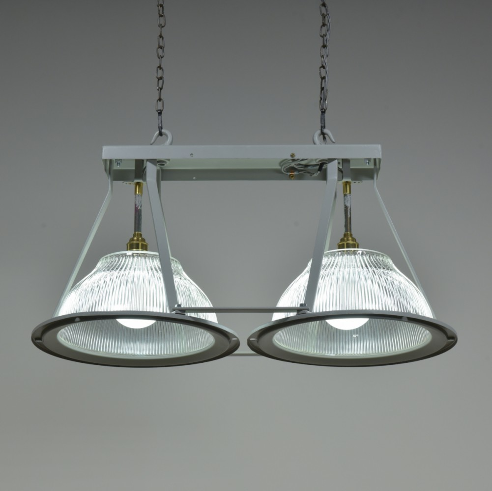 Holophane Double Shade Light