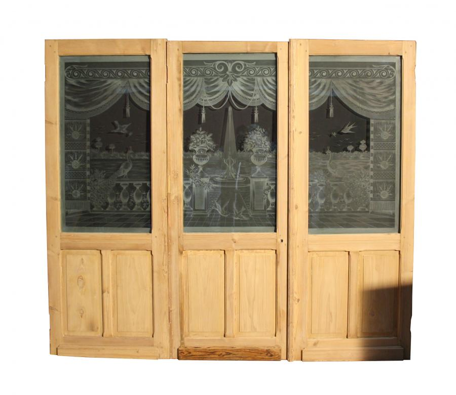 French Room Divider / Dividing Doors