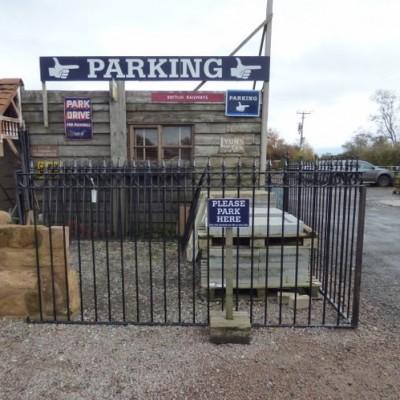 Reclaimed Wrought Iron Railings