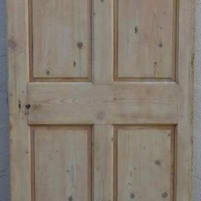 Georgian paneled doors.