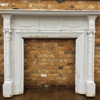 Reclaimed Antique Wooden fire surround