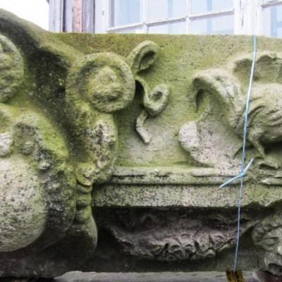 Figurative facade element from Dresden - Element de facade