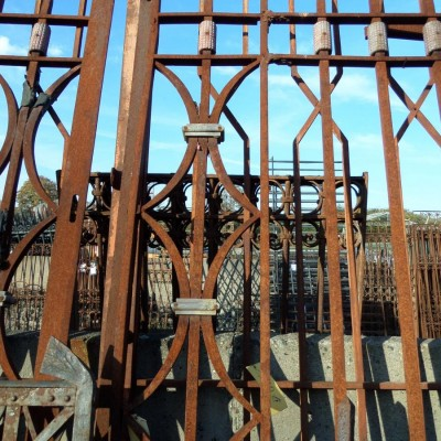 Big Gate Art Deco - Portail d´entree geant
