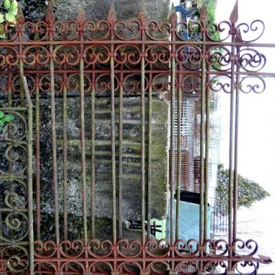 Art Nouveau Fence - Barriere style Art Nouveau