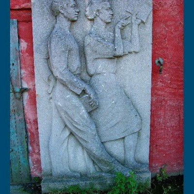 Socialist wall reliefs