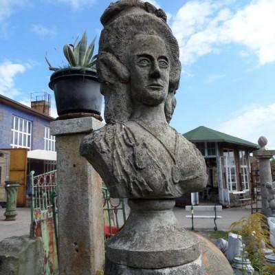 Stone Bust - E.Chr. v.Braunschweig-Wolfenbüttel-Bevern