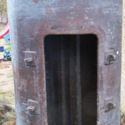 Big copper metric tons 1870s - Chambre en cuivre de 1870