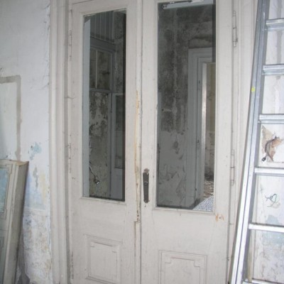 Villa Schandau complete door with sandstone frame - Porte