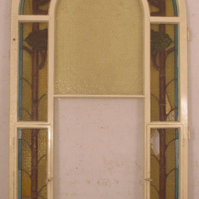 Lead window Art Nouveau