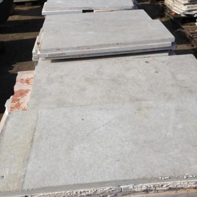 50 m² marble slabs
