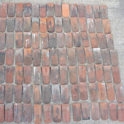 Collection of  180 bricks  - 18th Century