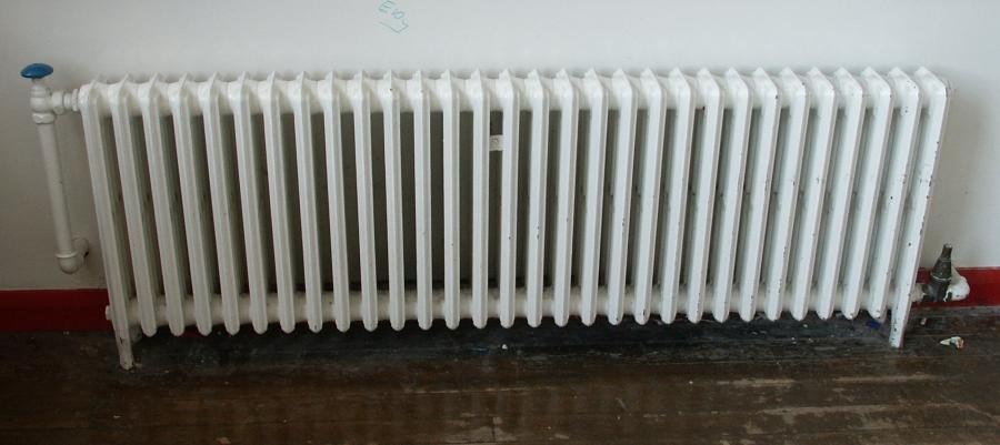antique 4 column cast iron radiators.
