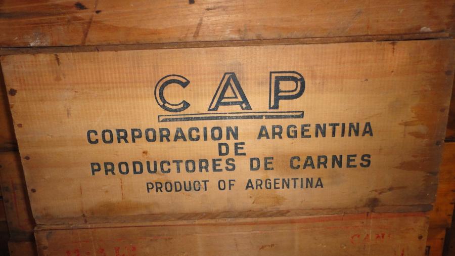 original world war corned beef ration boxes