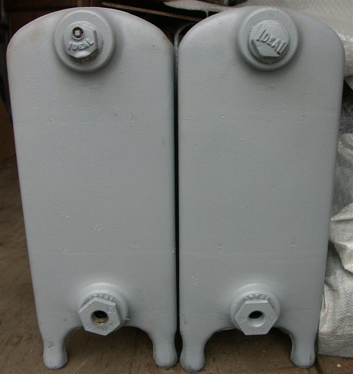 fat antique cast iron radiators