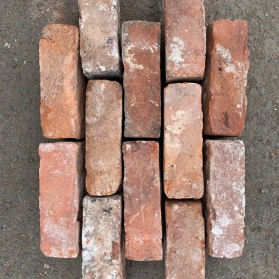 Reclaimed Bricks Handmade Imperial Red Large Quantities