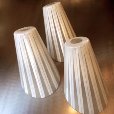 Antique Art Deco Pendant Light Shades