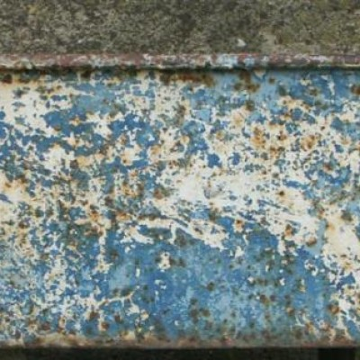 Antique cast iron trough
