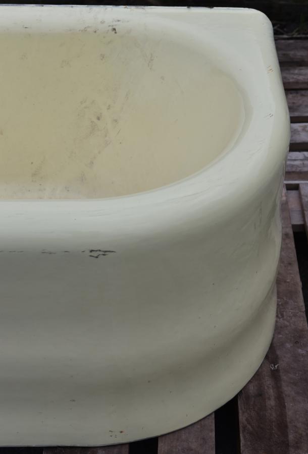 antique skirted cast iron  bath