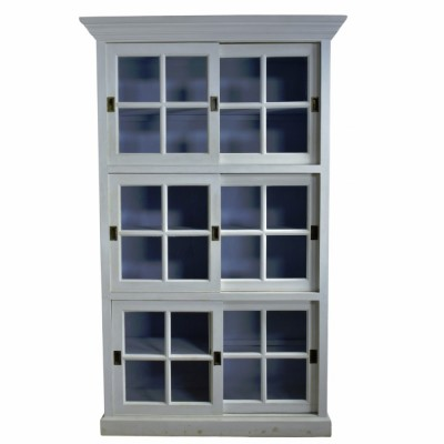 Large Kitchen Cupboard - Sliding Doors