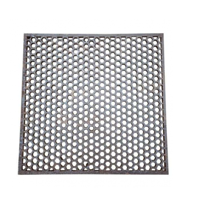 Genuine Old Antique Reclaimed Cast Iron Floor Grids / Grilles / Heating Pipe Cover