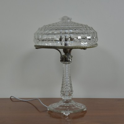 Glass Lamp & Shade
