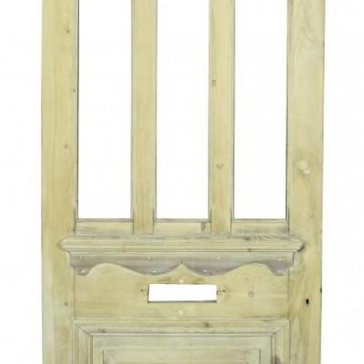 A 19th C. pine front door