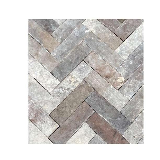 Batch of  Mahogany Reclaimed Hardwood Parquet Flooring