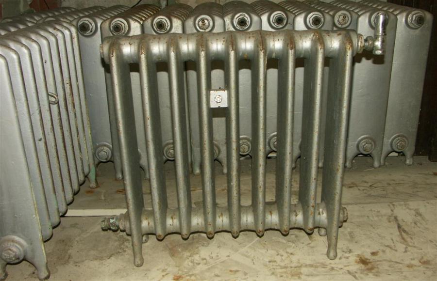 24 inch high  cast iron radiators