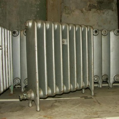 24 inch high  cast iron radiators