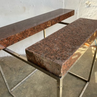 DEMOLITION ALERT: Large quantity of red granite. Trade buyers only