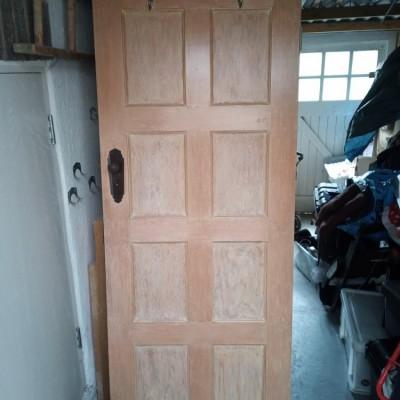 Original 8 panel internal doors with bakerlite handles