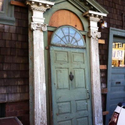1780 New England front entry surround