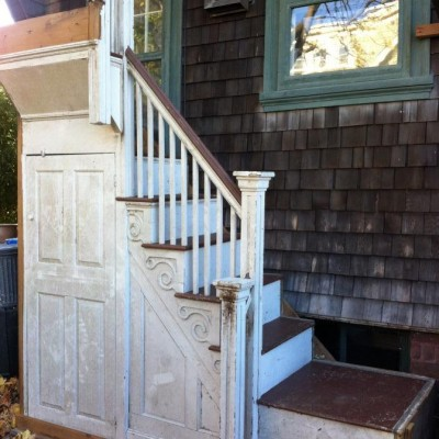 1780 front dog leg staircase