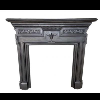 Antique Decorative Cast Iron Fire Surround