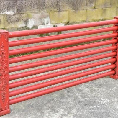 decorative antique  cast iron show jumping radiator