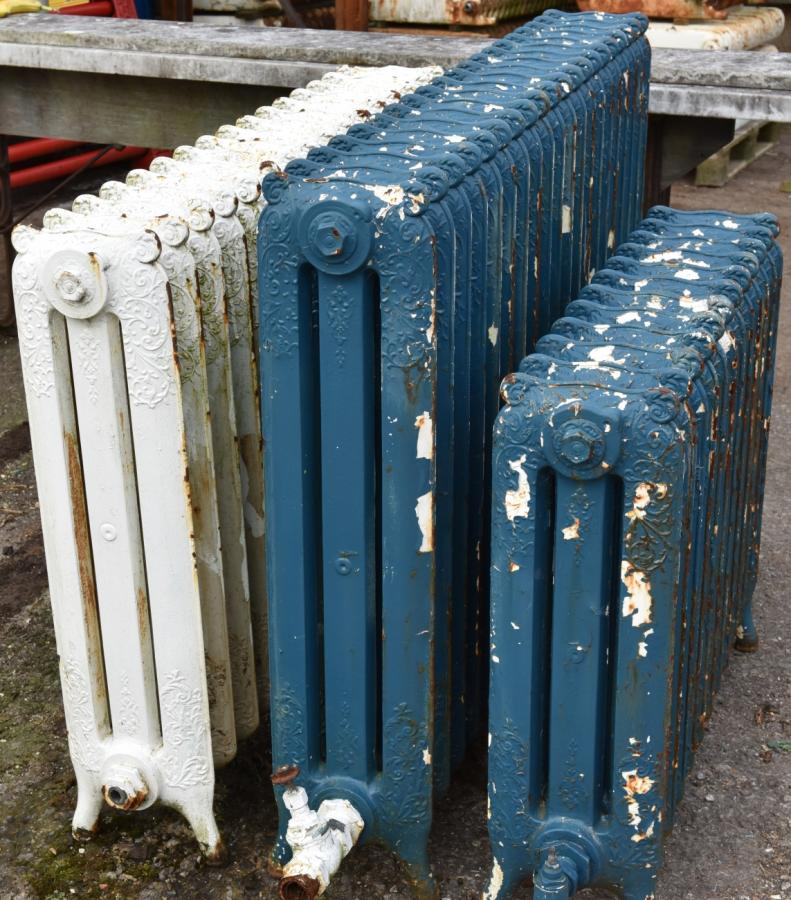 antique decorative cast iron radiators
