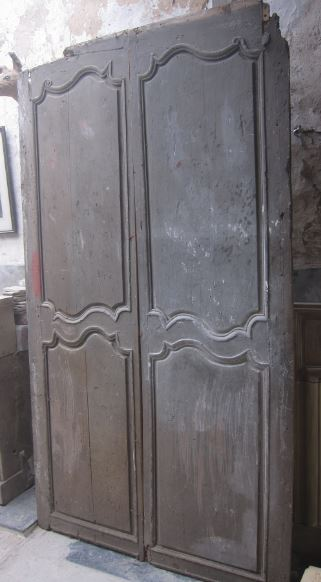 Pair Of 18th Century French Wooden Doors