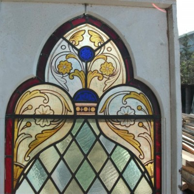 hand painted stain glass