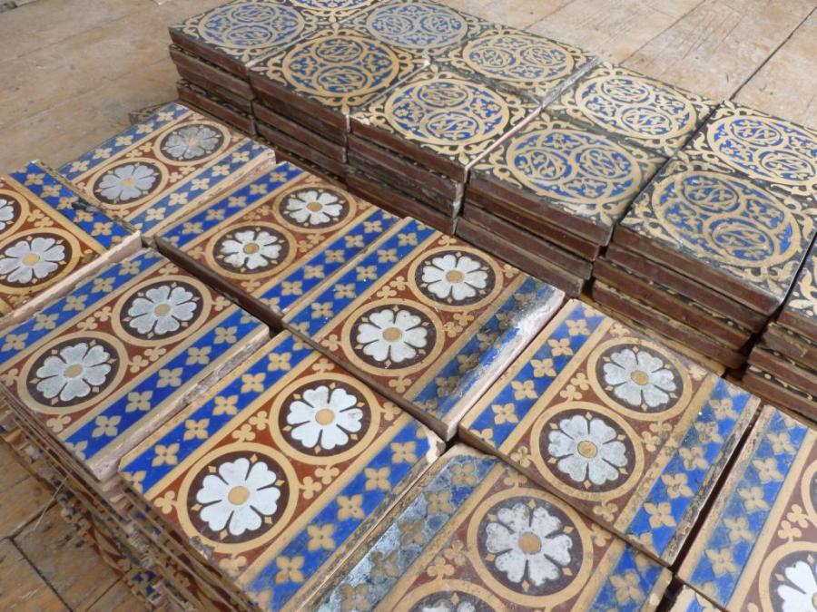 Funky Minton Floor Tiles Ensign Best Home Decorating Ideas