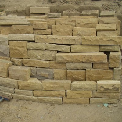 Yorkstone Walling Coursed or Random