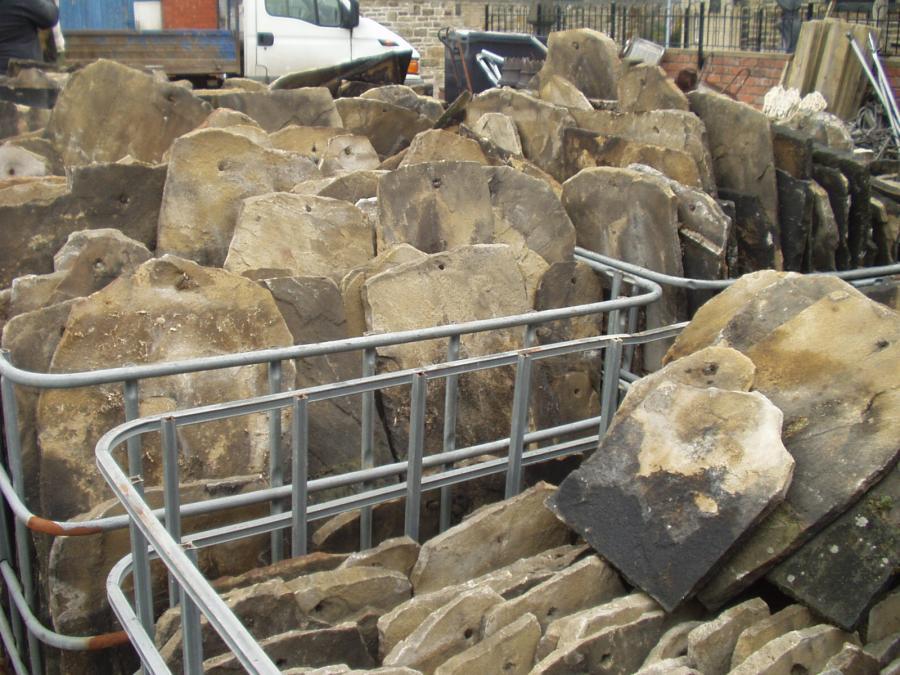 Stone roof Slates - Abacus Stone sales (Stone merchants)