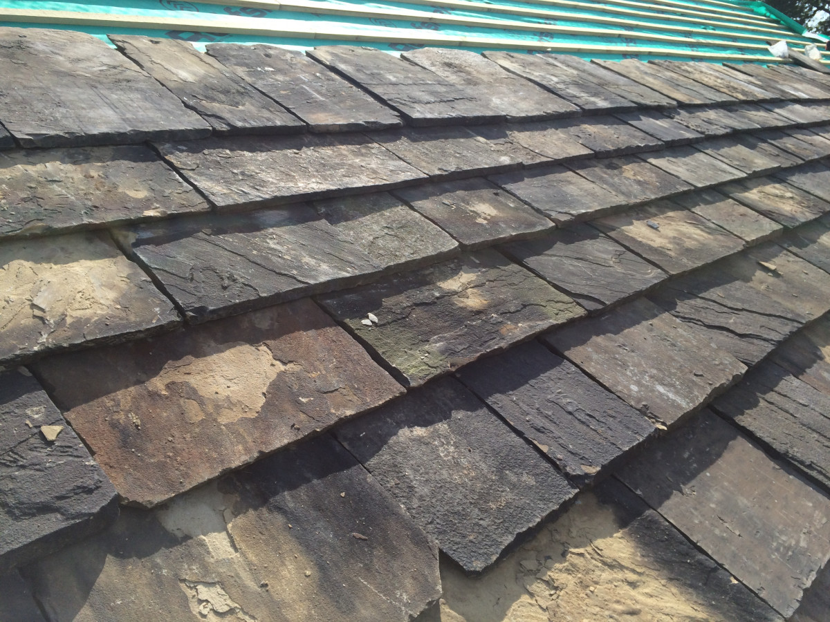 Reclaimed Yorkshire Stone Roof Slates