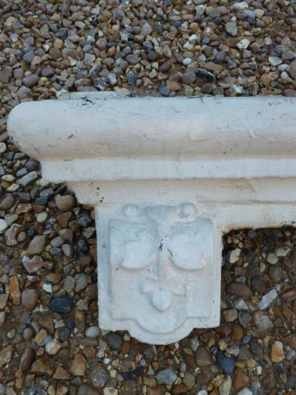Antique Cast Iron Window Cill