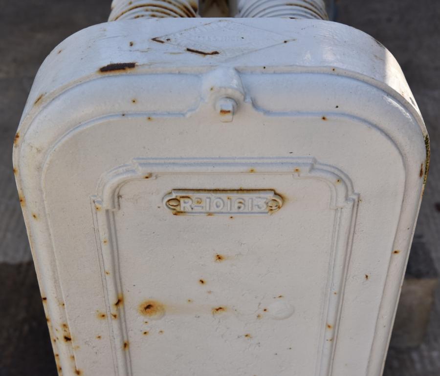unusual antique cast iron showjumping radiator 19th century