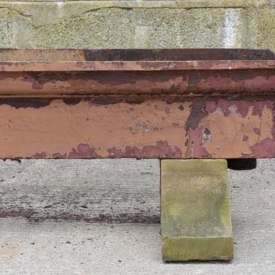 worlds longest antique trough planter
