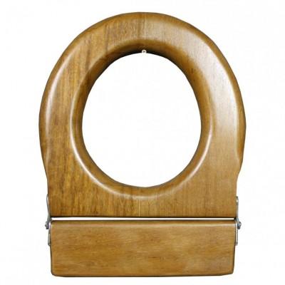 A Mahogany toilet seat C. 1920