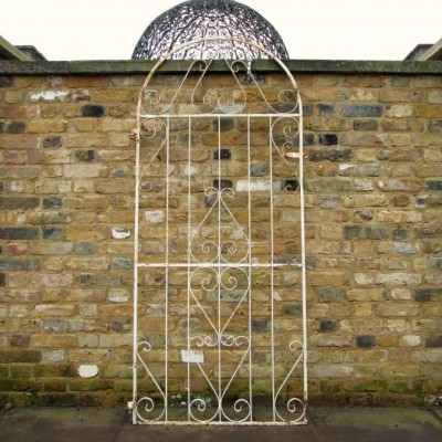 Reclaimed Painted Iron Gate