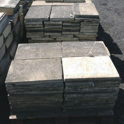 Reclaimed Paving/ Coping