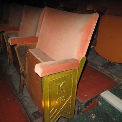 Vintage Theatre/Cinema Seating in Dublin Ireland