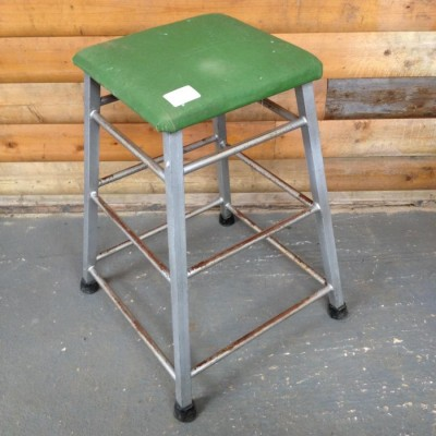 Reclaimed Vintage Gym Stool